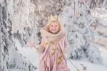 zimowa sesja dla dziecka