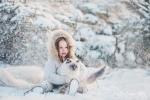 sesja dla dziecka zima