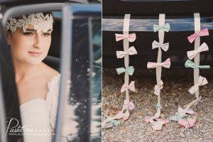 retro dekoracje ślubne