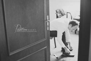 przygotowania ślubne Pan Młody