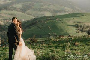 sesja ślubna w Pienińskim Parku