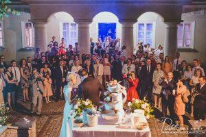 sala weselna w pałacu śmiłowice
