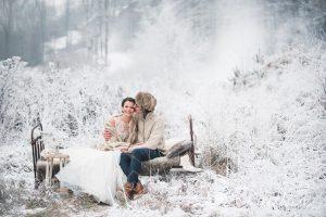 zimowy plener w Pieninach